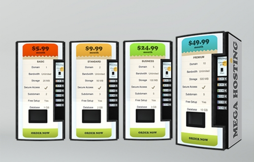 vending machine mockup