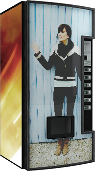 vending machine mock up