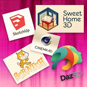Formations SketchUp Scratch DAZ C4D SH3D